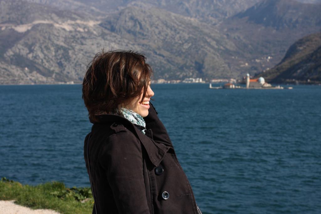 Я, море и вид с трассы на Госпа Од Шкрпела